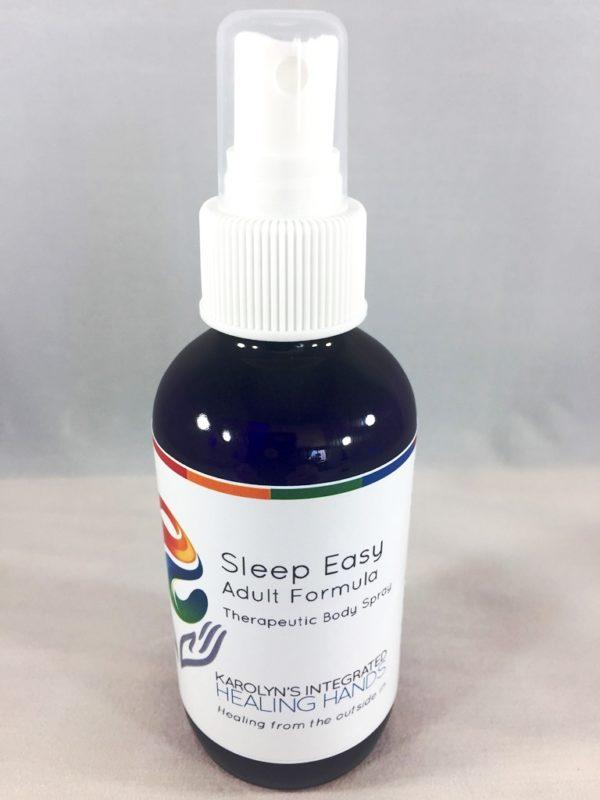 sleep easy adult formula body spray